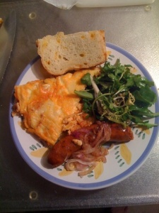 Tom's Paprika-Potato Omlette